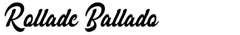 Rollade Ballado