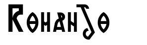 Romanjo font