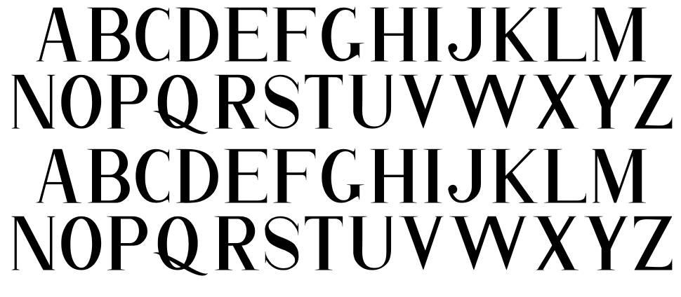 Romantice 字形