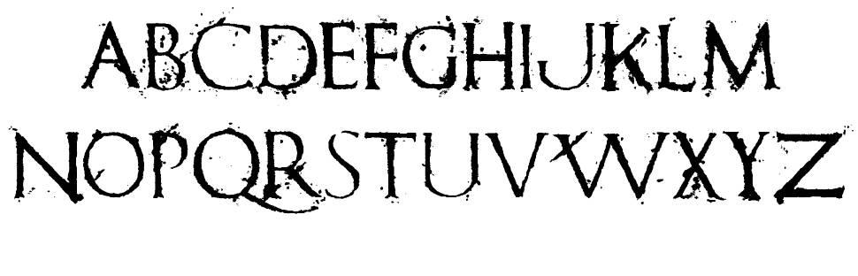 Romanum Est schriftart