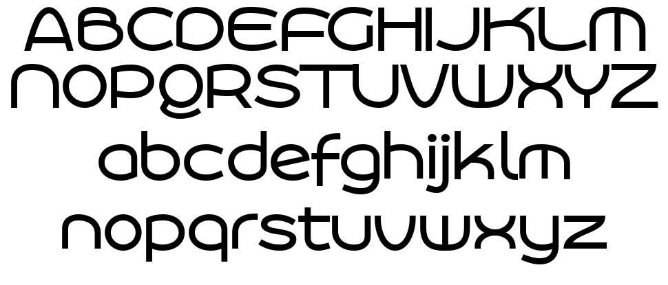 Roona Sans шрифт