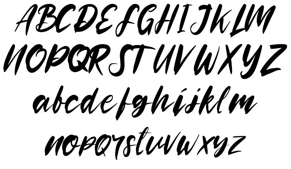 Rooselyn font
