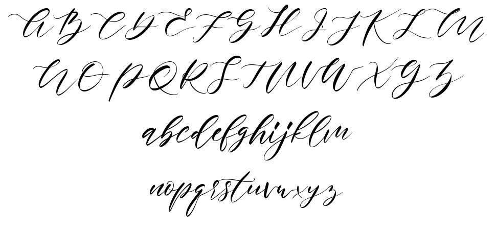 Rosadetta font