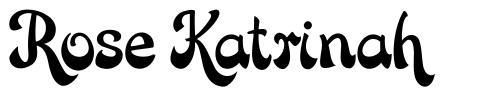 Rose Katrinah