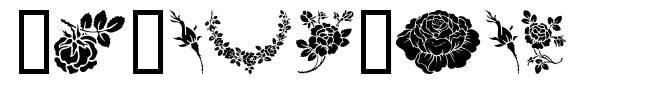 Rosegarden 字形