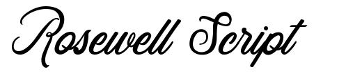 Rosewell Script