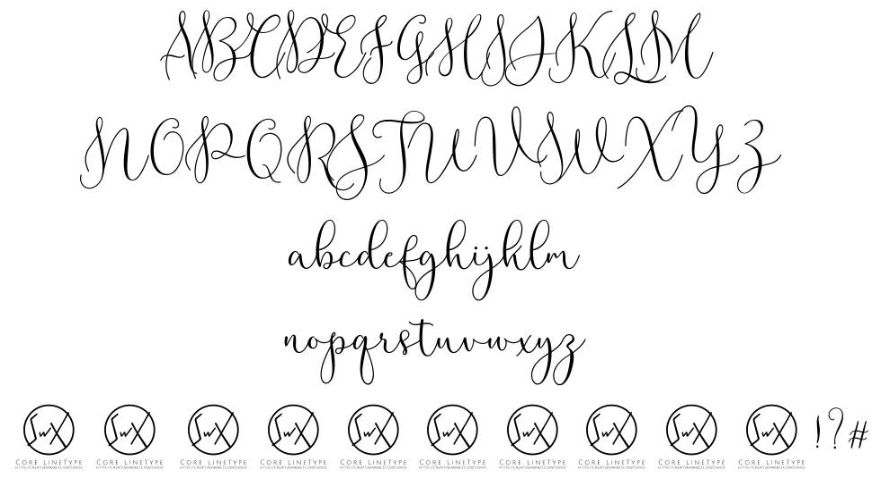 Rottarity Feminine font