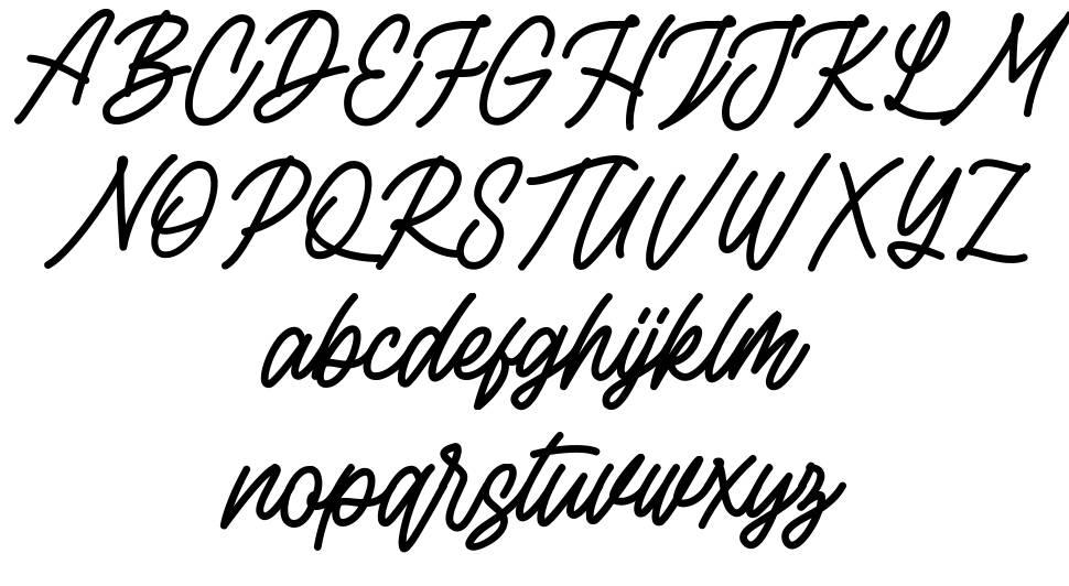 Rottordam font