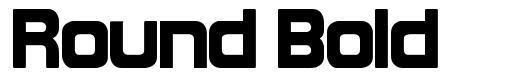 Round Bold font