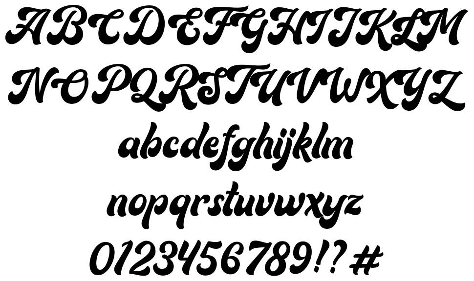 Routhers font