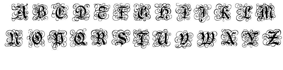 Royal Gothic font