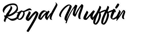 Royal Muffin font