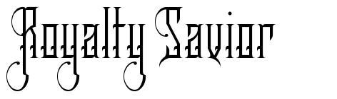 Royalty Savior font