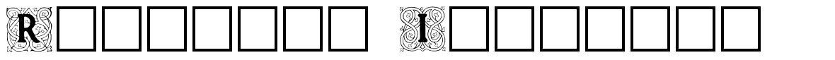 Roycroft Initials font