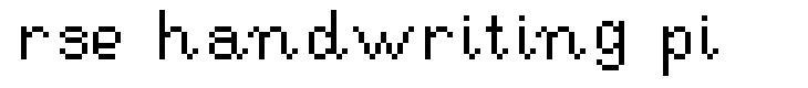 RSE Handwriting Pi