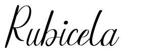 Rubicela font