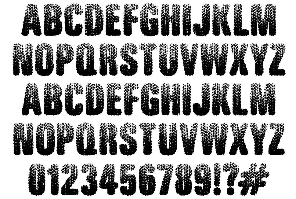 Rugged Ride font