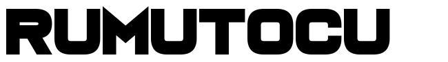 Rumutocu 字形