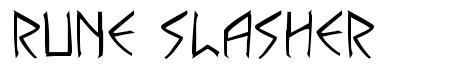 Rune Slasher fuente