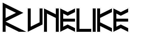 Runelike font