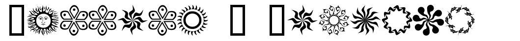 Running N Circles 字形