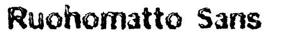 Ruohomatto Sans шрифт