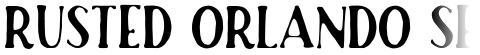 Rusted Orlando Serif