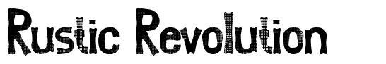 Rustic Revolution font