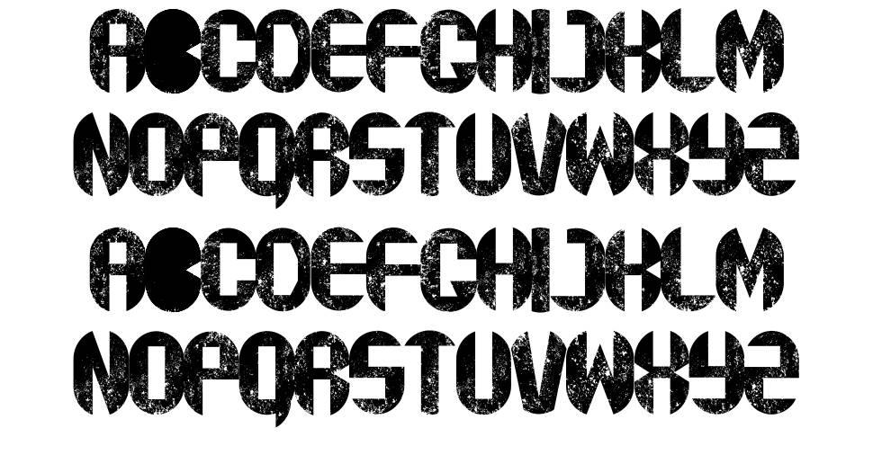 rustyfatty font