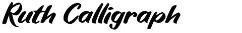 Ruth Calligraph