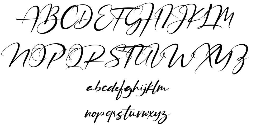 Ruthligos font