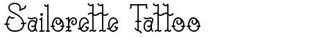 Sailorette Tattoo
