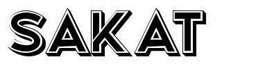 Sakat 字形