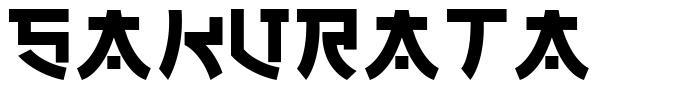 Sakurata フォント