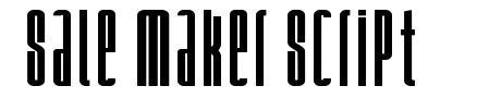 Sale Maker Script