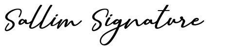 Sallim Signature