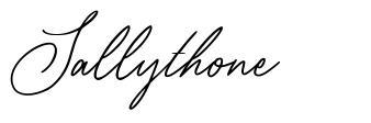 Sallythone