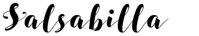 Salsabilla font