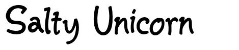 Salty Unicorn font