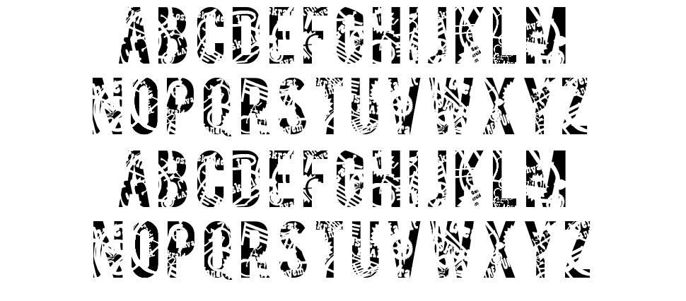 Salvage font