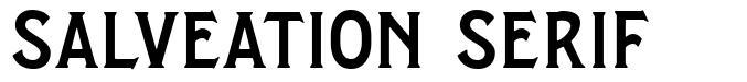 Salveation Serif font