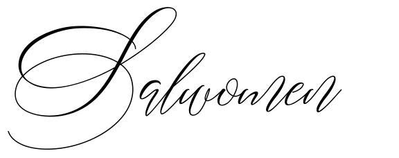 Salwomen font