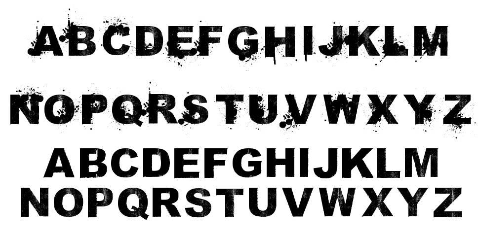 Sammies Sans Serif písmo
