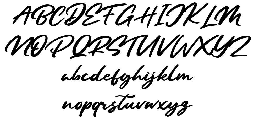 Sandiego font