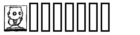 Sangrael font