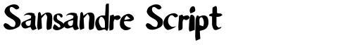 Sansandre Script