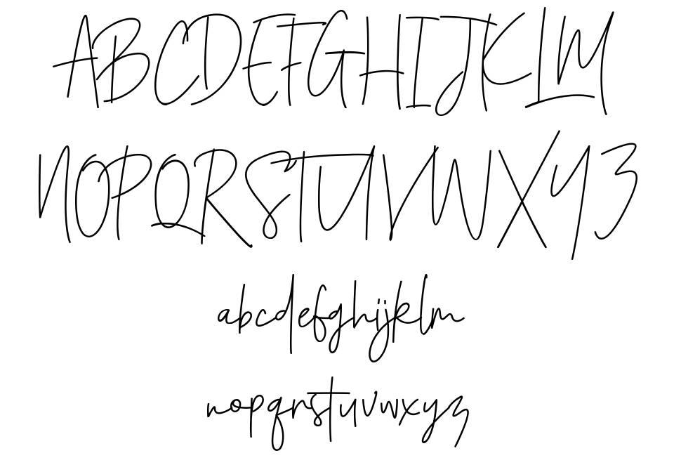Santiago Pro шрифт