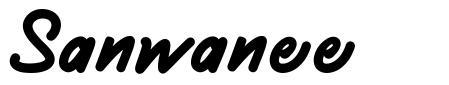 Sanwanee font