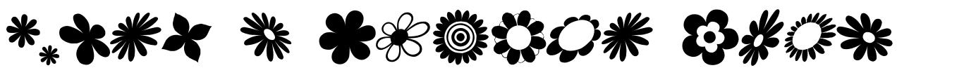 Saru's Flower Ding 字形