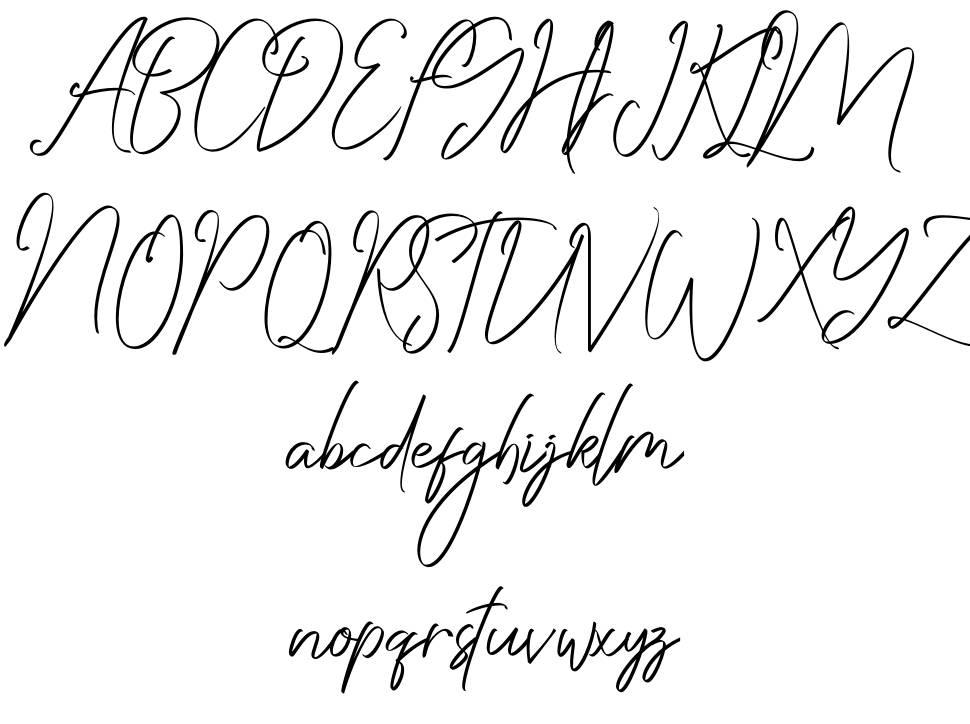 Saturday font